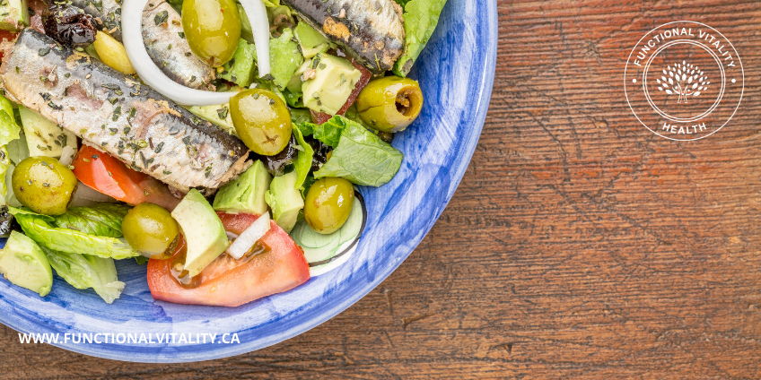 Sardine & Avocado Salad