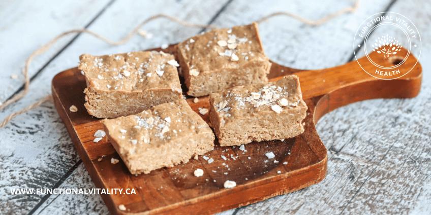 Cinnamon Roll Protein Bars