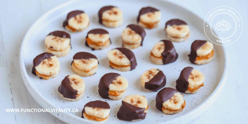 Banana Chocolate Bites