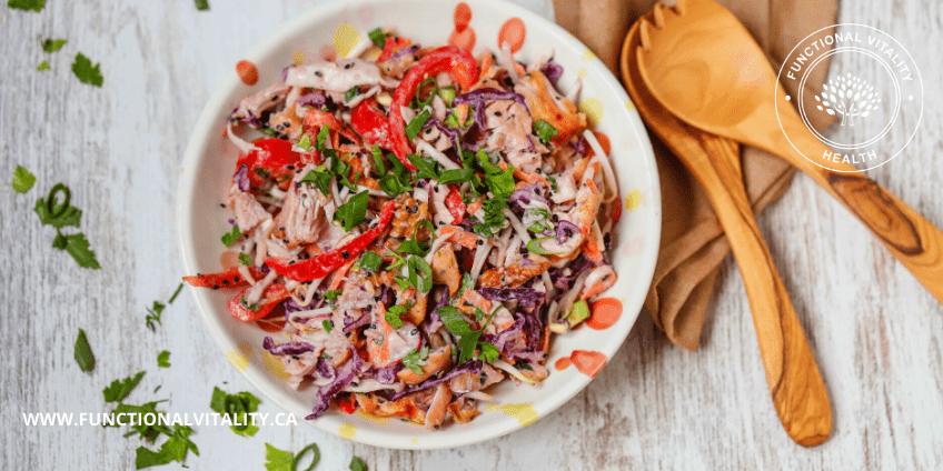 Low Carb Turkey Salad