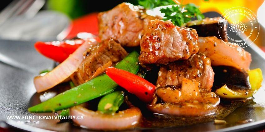 Rainbow Beef Stir Fry